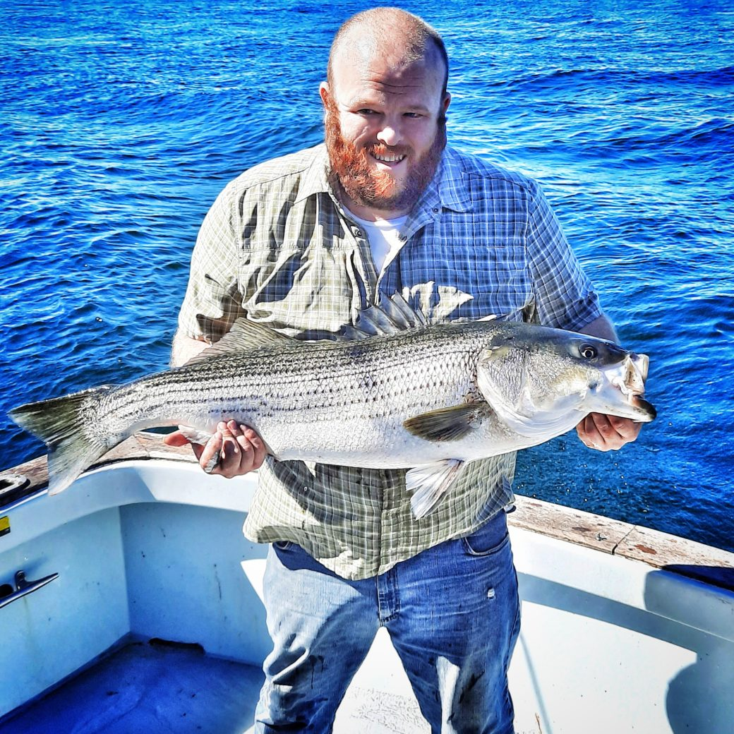 Striped Bass Fishing Charters Connecticut