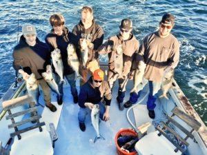 Fall Fishing Charters, Petrel Charters Waterford Connecticut